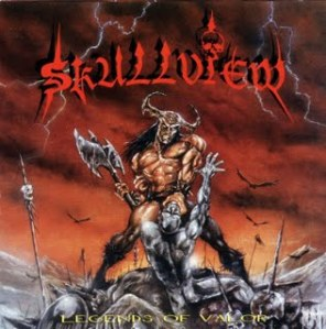 skullview - legends of valor - Front