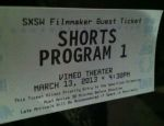 Free ticket to the film festival