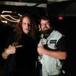 Joe Hasselvander (Raven/Pentagram!) and Monkey Boy