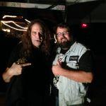 Joe Hasselvander (Raven/Pentagram!) and Monkey Boy