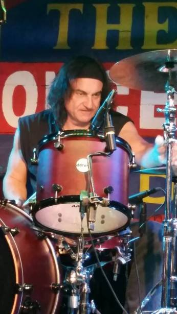 Vinny Appice photo by Rene Cuellar