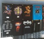 Sepultura merch.  Loved that USA tour shirt, didn't have my size.  :(