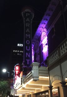 New sign at the Paramount