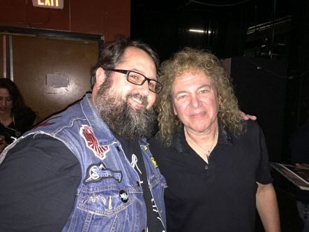 Dave Meniketti and monkey boy