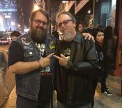 Ran into Tim Baker from the mighty Cirith Ungol