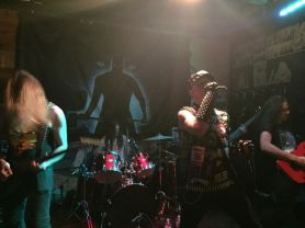 Visigoth rocking out in better health