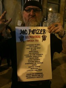 Rob Doom and the Jag Panzer setlist