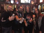 Lethal's Jerry Hartman, Dell Hull, Dave McElfresh and Monkey Boy