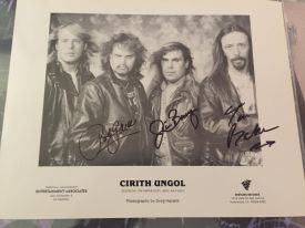A gift from Cirith's long time photog. CU signed it for me