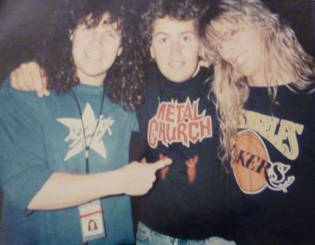 Craig, Monkey Boy and Mike '89. Will dig actual foto out for the next time.