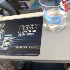 free tequila on Interjet